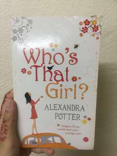 Who's That Girl by Alexandra Porter #july70