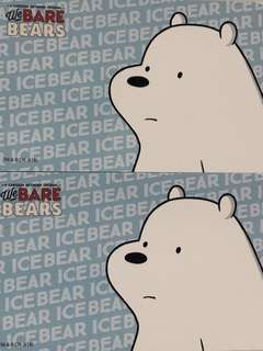 Limited edition brand new We Bare Bears Ice Bear design Ezlink card for $18 EACH.