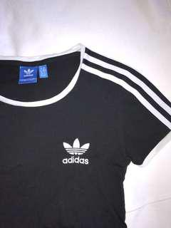Adidas Trefoil Striped T-Shirt