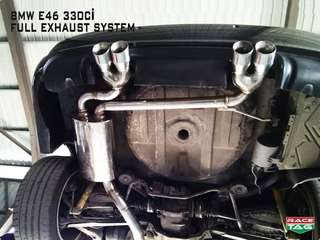 BMW E46 330CI CUSTOM MADE FULL EXHAUST SYSTEM