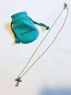 Authentic tiffany's cross pendant