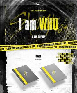 [PRE ORDER] STRAY KIDS - I AM WHO