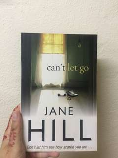 Can't Let Go by Jane Hill #july70