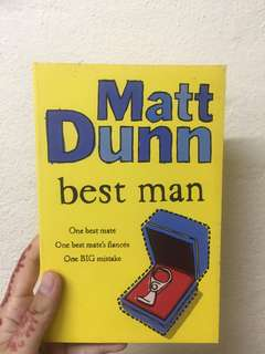 Best Man by Matt Dunn #july70