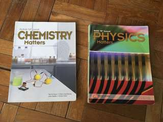 Chemistry & Physics Matters O level textbook