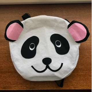 PRE-LOVED Panda Backpack for Kids or Kids-at-Heart
