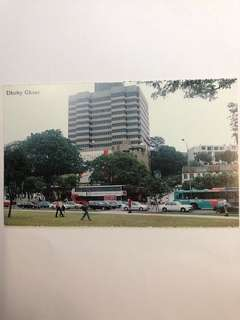 Singapore Old Postcard Collection (Reproduction): Scene of  1994 Dhoby Ghaut