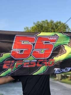 Hafizh Syahrin 55 El Pescao Flag