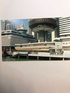 Singapore Old Postcard Collection (Reproduction): Scene of  1994 Collyer Quay