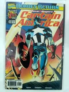 Captain America #1 (1998)
