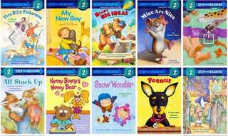 Step into reading Level 2  #bundle 2