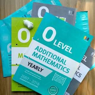 Shinglee O Level Yearly Mathematics & Additional Mathematics