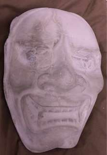 Japanese Concrete Mask (Handmade)