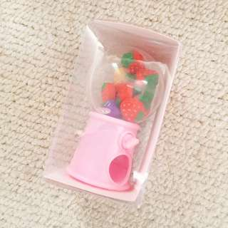 扭蛋式🍉水果mini橡皮機