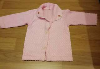 Baby long sleeves collar shirt with buttons