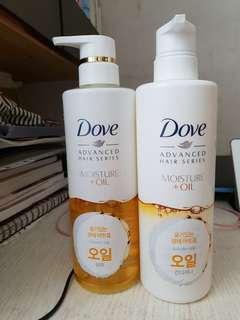 Dove advanced hair series set