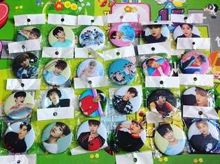 WANNA ONE Button Badge