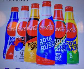 Fifa set Of Cola ( From Japan )