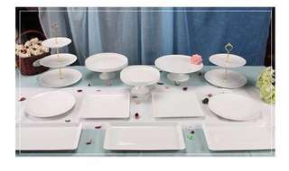 Dessert Table Trays Rental (12 pcs)