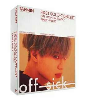 [PRE] TAEMIN - Taemin 1st Solo Concert Off-Sick KHINO VIDEO