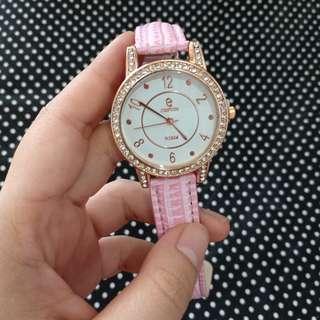 [New] jam tangan pink