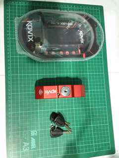 Kovix Throttle & Lever Alarm Lock