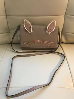 Brand New With Tags Authentic Kate Spade Bunny Crossbody Bag Purse