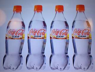 Coca -Cola ( clear ) From Japan