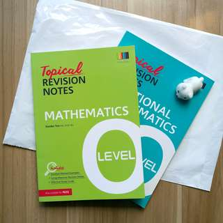 Shinglee O Level Revision Notes Mathematics & Additional Mathematics