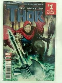 The Unworthy Thor #1 (2016)