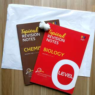 Shinglee O Level Revision Notes Chemistry & Biology