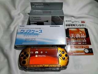 Gold Black PSP Slim 3000 4gb v6.20 Downloadable