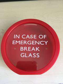 In case of emergency coin box