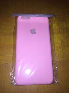 Softcase Iphone6+ pastel apple soft pink