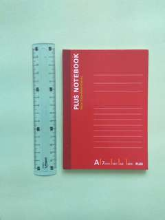 A6 notebook - lined