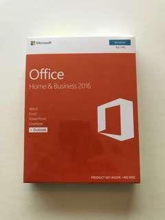 Microsoft Office Home & Business 2016 ( Product Key Only )