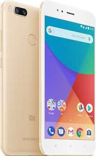 Xiaomi Mi A1 4 GB /64 GB Gold Global Original Garansi TAM Mi 5x Jual Cepat
