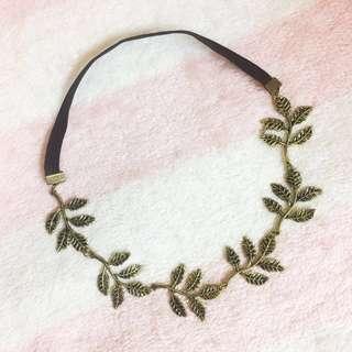 🆕 Retro Leaf Headband #July70