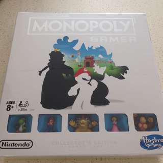 Monopoly Gamer Collector's Edition Hasbro Nintendo Mario