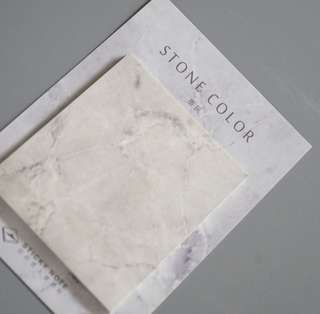 🚚 Grey Marble Sticky Notes