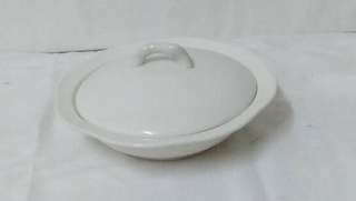 Porcelain dishbowl with cover