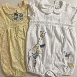 Next Rompers (0-3mths)