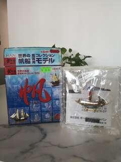 古帆船模型