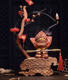 QiPao Wukong Backflow Incense Burner