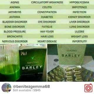 Barley for health and wellness
