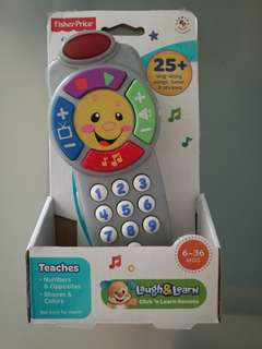 Fisher Price click 'n learn Remote (6-36mo)