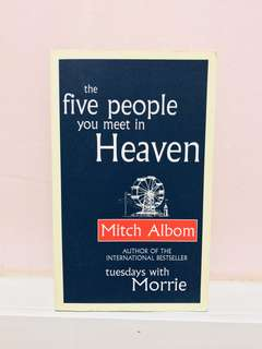 🚚 The five people you meet in Heaven