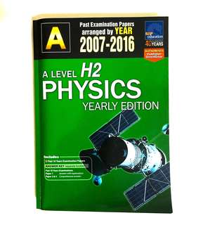 A level H2 Physics yearly TYS