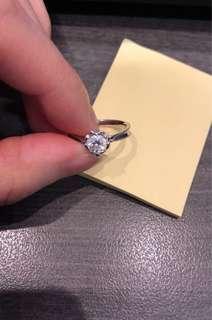0.50 carat E級 鑽石戒指