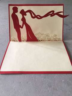 [POP UP] Wedding Card - Gift Idea